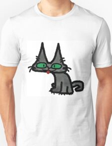 Kitty with Tongue Sticking Out T-Shirt
