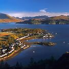 Plockton and Loch Carron, North West Highlands. Scotland. by PhotosEcosse