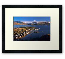 Plockton and Loch Carron, North West Highlands. Scotland. Framed Print