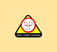 Anti-Theft System (Pattern 2) (light) by ShopGirl91706