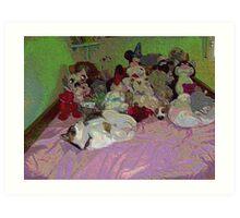 A childs room Art Print