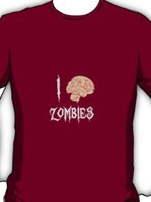 I Brain (<3) Zombies T-Shirt