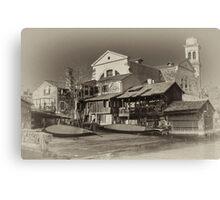 Where Gondolas Born Canvas Print