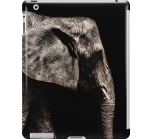 Elephant Portrait Fine Art Print iPad Case/Skin