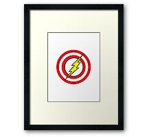 Captain Flash Framed Print