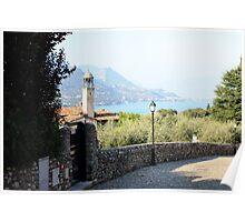 View of Lake Garda Poster