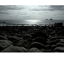 Cot Valley Beach, St Just Photographic Print