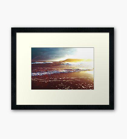 Peaceful Tides Framed Print