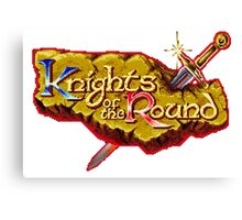 Knights of the Round Canvas Print