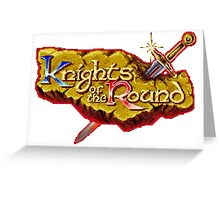 Knights of the Round Greeting Card