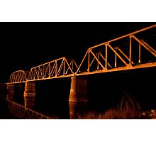 Railway Bridge Photographic Print