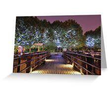 Magic Trees  Greeting Card