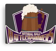 Mithral Hall Battlehammers Canvas Print