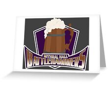 Mithral Hall Battlehammers Greeting Card