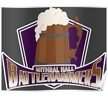 Mithral Hall Battlehammers Poster
