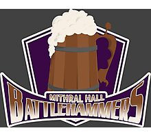 Mithral Hall Battlehammers Photographic Print