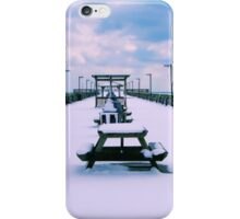 Snow Comes To The Beach iPhone Case/Skin