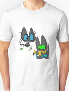 Cats with Toys T-Shirt