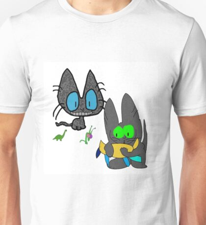 Cats with Toys Unisex T-Shirt