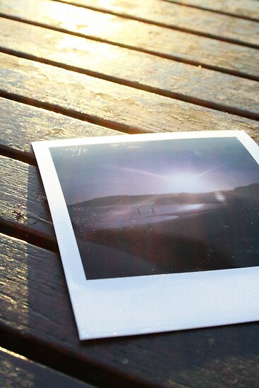 Polaroid on the deck by miametro