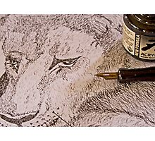 Ink Cubs Photographic Print