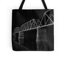 Murray Bridge BW  Tote Bag