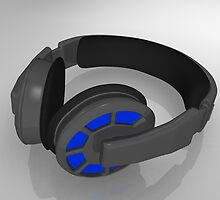 professional stereo headphones by bmg07