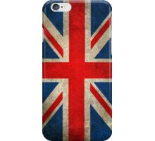 Old and Worn Distressed Vintage Union Jack Flag iPhone Case/Skin