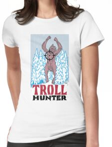 Troll hunter Womens Fitted T-Shirt