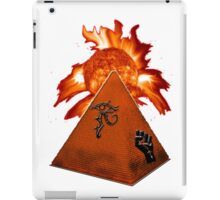 Sun Black Power Pyramid iPad Case/Skin