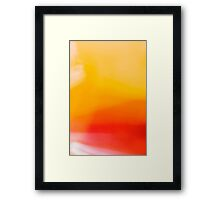 Abstract Portraiture Framed Print