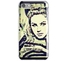 batgirl was a librarian iPhone Case/Skin
