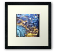 Only Time-  Abstract 139-art+Product Design Framed Print