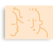 First Kiss?  Canvas Print