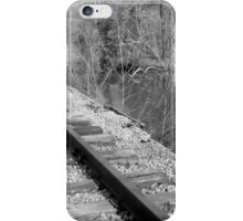 Tracks By The River iPhone Case/Skin