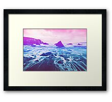 Dreamy Lagoon Framed Print