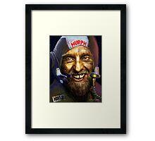 Asteroid Miner Framed Print