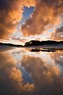 Rarawa Sunset. by Michael Treloar