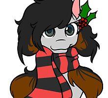 Christmas Mod Pony by AliGoesMew