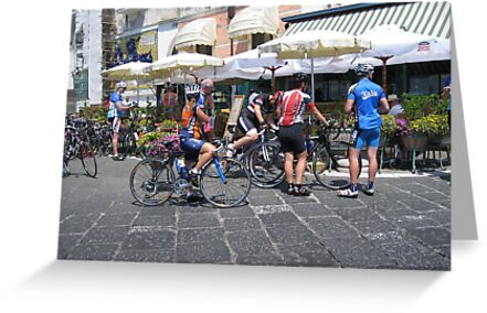 Cyclists in the giro de Italia by longaray2