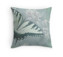 Butterly and Bumblebee Throw Pillow