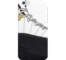 "Air Jordan XII (12) ""Taxi"" iPhone Case/Skin"