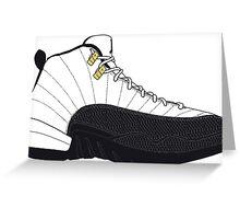 "Air Jordan XII (12) ""Taxi"" Greeting Card"