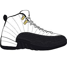 "Air Jordan XII (12) ""Taxi"" Photographic Print"