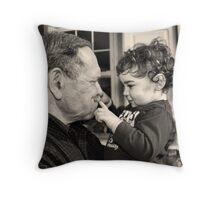 Pop Pop Nino Throw Pillow