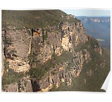 Blue Mountain Wall Poster