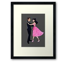 Are We Dancing?  Framed Print