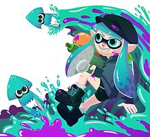 Splatoon  by Lirhya