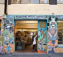 Melbourne Artists' Supplies by Marie Watt