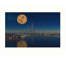 City on the Bay Art Print